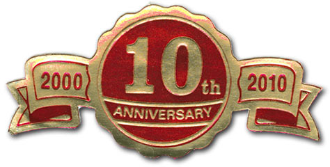 10th anniversary self-award
